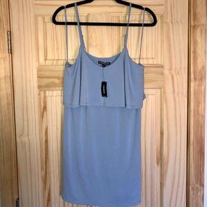 Express light blue mini dress size small